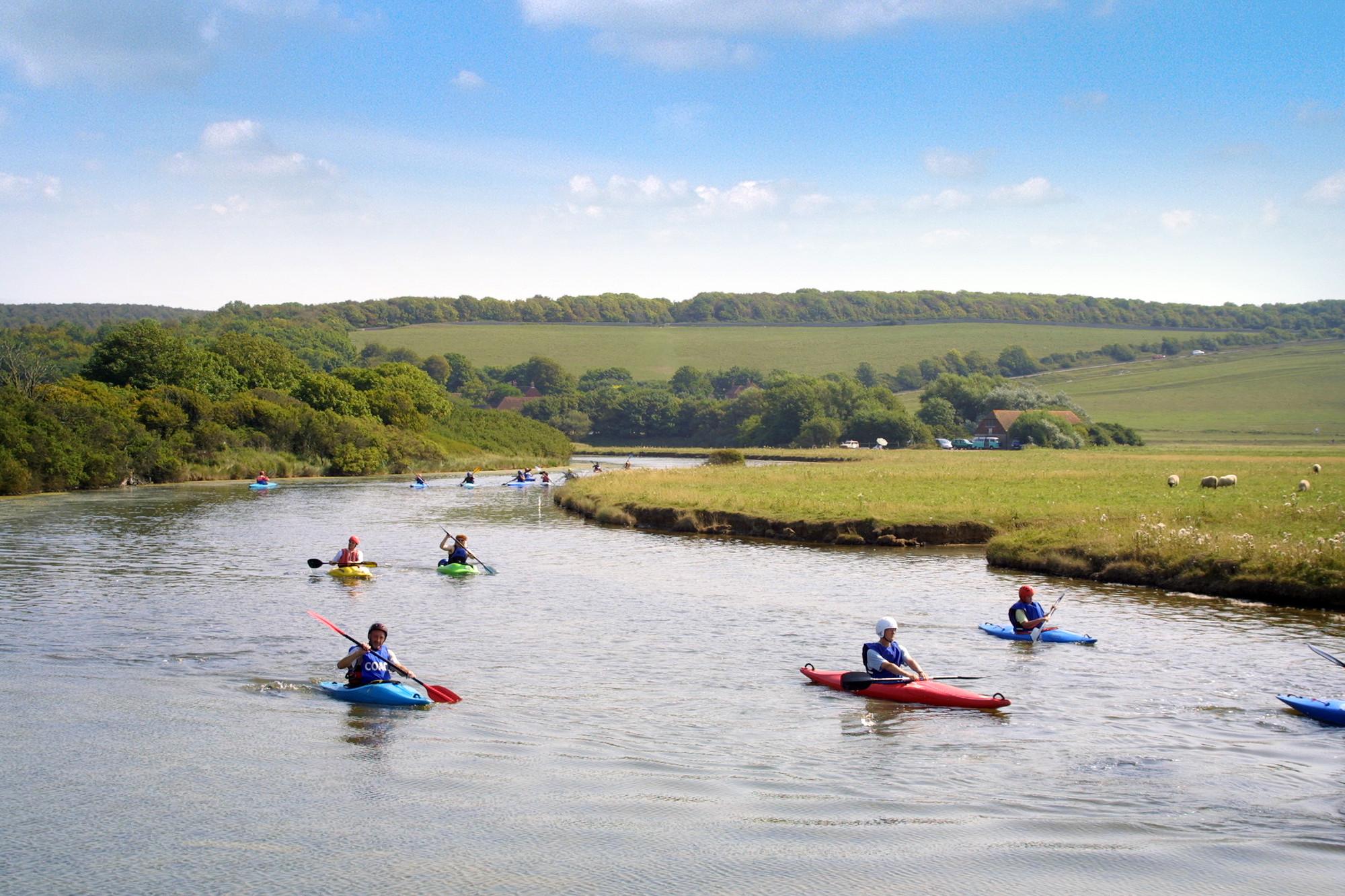 Kayaking & paddle boarding image