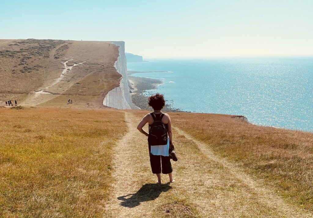 Inspired by Seven Sisters and the South Downs image